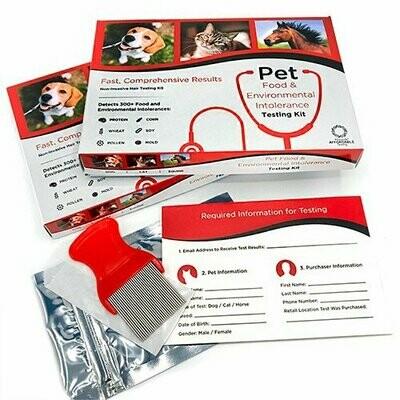 5 Strands Pet Food & Environmental Intolerance Testing Kit