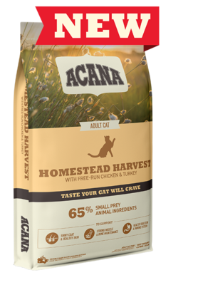Acana Cat Food Homestead Harvest