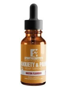 Apawthecary Pets Hemp Terpenes Oil Bacon 30ml