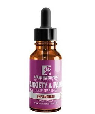 Apawthecary Pets Hemp Terpenes Oil Unflavoured 30ml