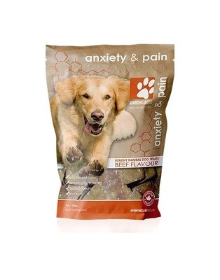 Apawthecary Pets Grain-Free Beef Hemp Infused Dog Treats 200g