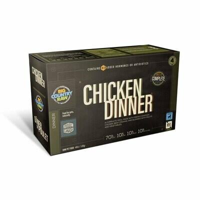 Big Country Raw Chicken Dinner Carton 4lb