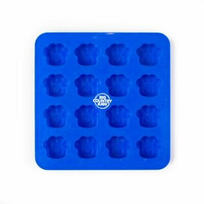 Big Country Raw Frozen Treat Mold Paw Small (Blue)