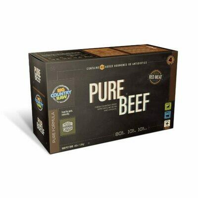 Big Country Raw Pure Beef Carton 4lb