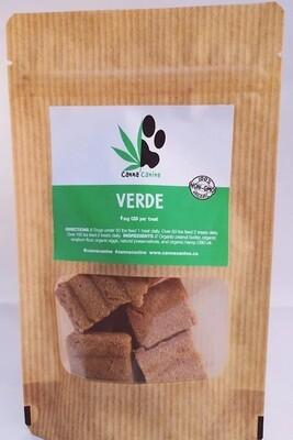CannaCanine Verde Gluten-Free Peanut Butter CBD Dog Treats