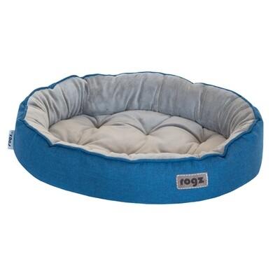 Rogz Dog or Cat Bed Cuddle Oval Podz