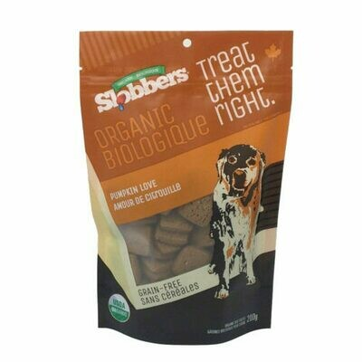 Slobbers Organic Dog Treats 205g