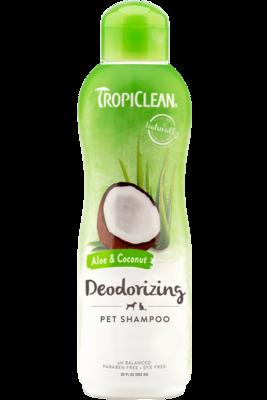 TropiClean Shampoo Aloe & Coconut Deodorizing 592ml