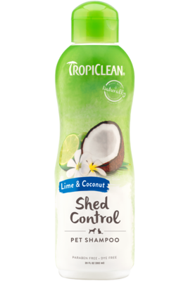 TropiClean Shampoo Lime & Coconut Shed Control 592ml