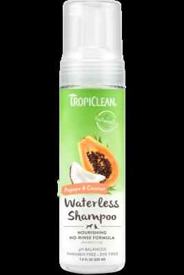 TropiClean Waterless Shampoo Papaya & Coconut 220ml