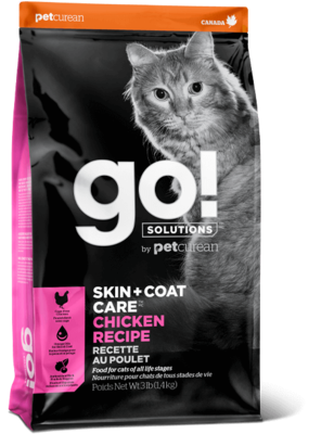 GO! Solutions Skin & Coat Cat Food Chicken