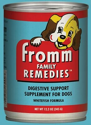 Fromm Remedies Digestive Support Dog Food Whitefish 345g (12pk)