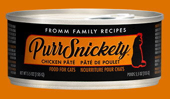 Fromm PurrSnickety Cat Food Canned Chicken Pate 155g (12pk)