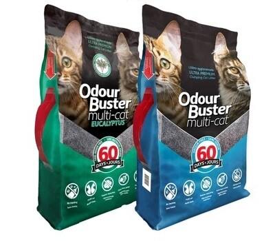 Odour Buster Multi-Cat Litter