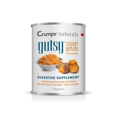 Crumps' Naturals Canned Gutsy Sweet Potato Puree with Pumpkin 377g (12pk)