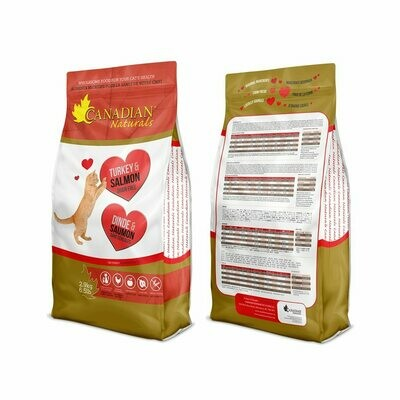 Canadian Naturals Cat Food Grain-Free Turkey & Salmon