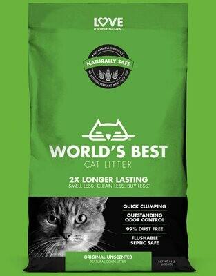 World's Best Cat Litter Original Unscented 12.7kg
