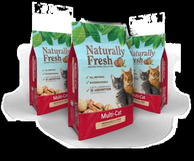Naturally Fresh Cat Litter Multi-Cat 11.79kg