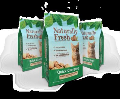 Naturally Fresh Cat Litter Quick Clumping 11.79kg