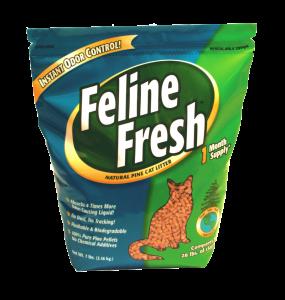 Feline Fresh Pine Pellet Cat Litter 18kg