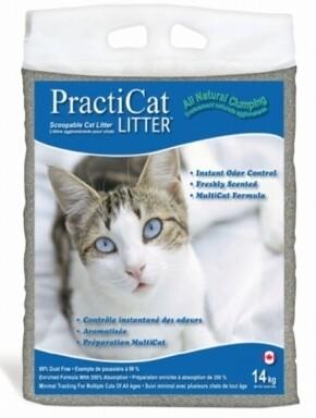 PractiCat Scoopable Scented Cat Litter