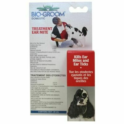 Bio-Groom Ear Mite Treatment 29ml