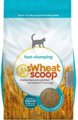 sWheat Scoop Fast-Clumping Cat Litter 11.36kg