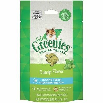 Greenies Dental Cat Treats Catnip 60g
