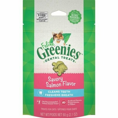 Greenies Dental Cat Treats Savory Salmon