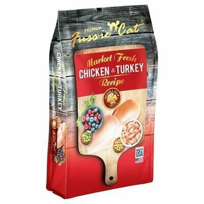 Fussie Cat Cat Food Grain-Free Chicken & Turkey 0.91kg