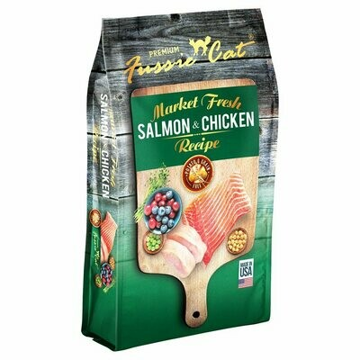 Fussie Cat Cat Food Grain-Free Salmon & Chicken