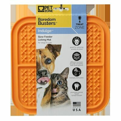 Pet Zone Boredom Busters Indulge Slow Feeder Licking Mat L