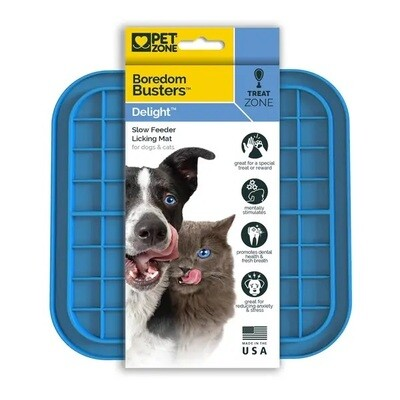 Pet Zone Boredom Busters Slow Feeder Licking Mat S/M