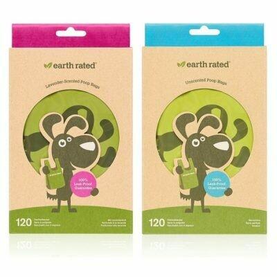 Earth Rated Poop Bags Easy-Tie Handle Bags (120 bags)