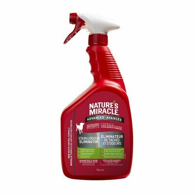 Nature's Miracle Advanced Stain & Odour Remover Spray for Dogs 946ml