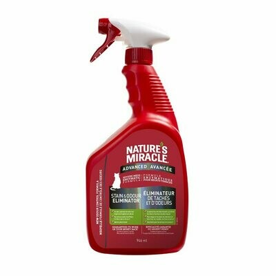 Nature's Miracle Advanced Stain & Odour Remover Spray for Cats 946ml