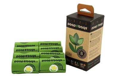 Poop Bags 8 Rolls (120ct)