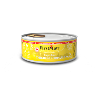 FirstMate Cat Food Canned Cage Free Chicken 156g (24pk)