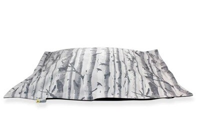BeOneBreed Cloud Pillow Bed Birch Wood