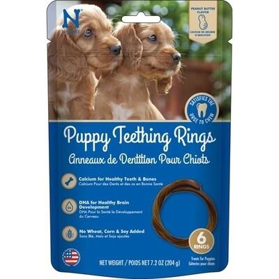N-Bone Puppy Teething Rings 6pk