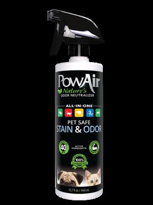 PowAir Pet Safe Stain & Odour Spray 464ml