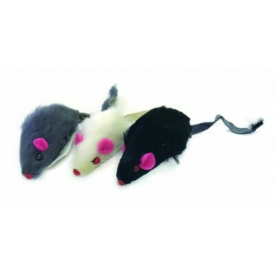 Multipet Mice Cat Toys 1.25