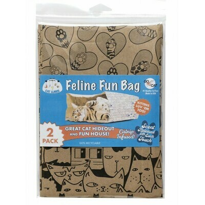 Cat Lures Feline Fun Bag 2pk