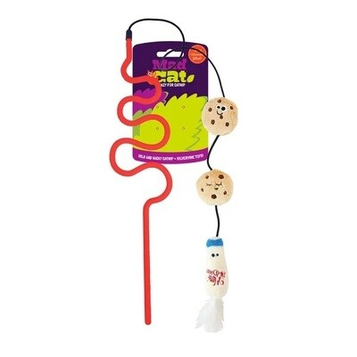 Cosmic Pet Mad Cat Cat Toy Wacky Wand Milk n' Cookies