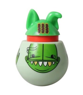 DoyenWorld Treat & Catnip Dispensing Toy Artist Series Angry Goop Massta