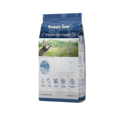 Snappy Tom Crystal Cat Litter Unscented 4kg