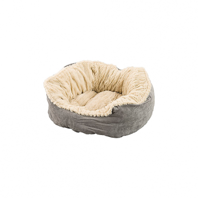 Spot Sleep Zone Carved Plush Bed 21