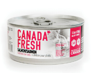 Canada Fresh Cat Food Canned Salmon 156g (24pk)