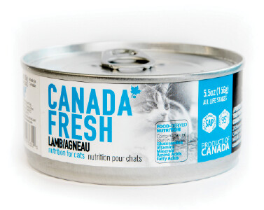 Canada Fresh Cat Food Canned Lamb 156g (24pk)