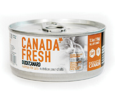 Canada Fresh Cat Food Canned Duck 156g (24pk)